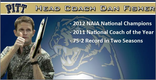 Dan Fischer, New Pitt Volleyball Coach, went 75-2 in his last two seasons.