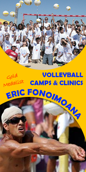 Eric Fonoimoana Volleyball Camp and Clinics